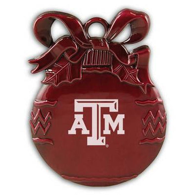 Texas A&M Bulb Christmas Ornament