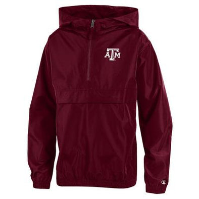 Texas A&M Youth Champion Packable Jacket