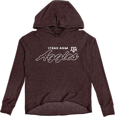 Texas A&M Reserve by Blue 84 Women's Cozy Fleece Pullover Hoodie