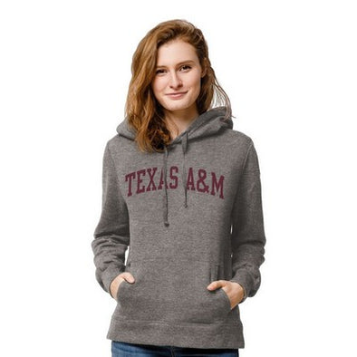 Texas A&M Red Shirt Classic Hood - Sterling Grey