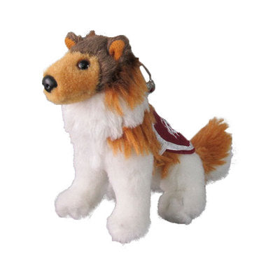 Texas A&M Reveille Mascot Mini Keychain
