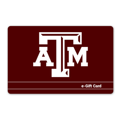 Texas A&M 12th Man Shop Gift Card