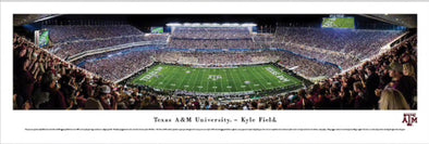 Texas A&M Aggie Football Panorama