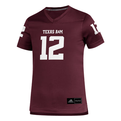 Texas A&M Adidas Maroon Toddler Replica Football Jersey