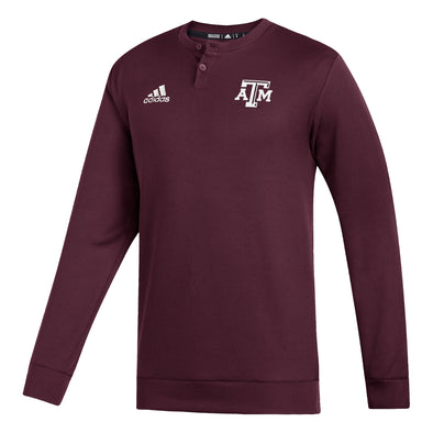 Texas A&M Adidas Men's Coaches Sweater