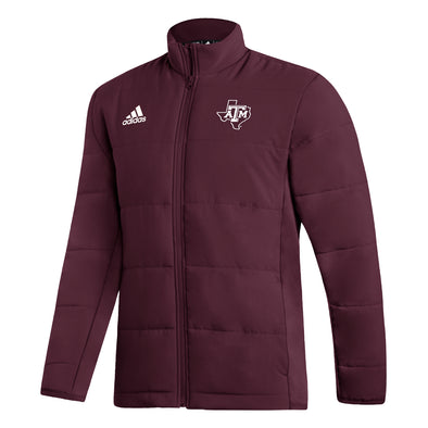 Texas A&M Adidas Maroon Midweight Jacket