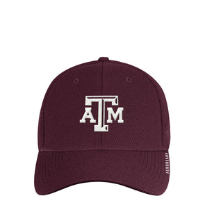 Texas A&M Adidas Maroon Men's Coach Structured Flex