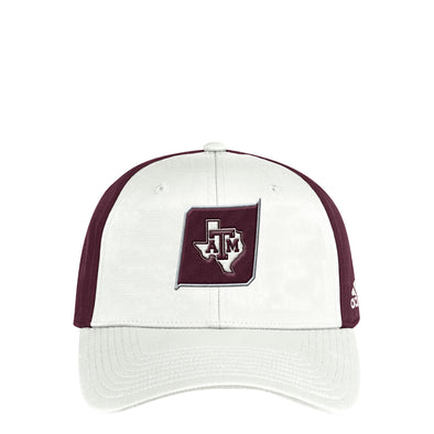 Texas A&M Adidas Coach Slouch Flex Hat