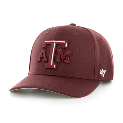 Texas A&M 47 Brand MVP Maroon Hat