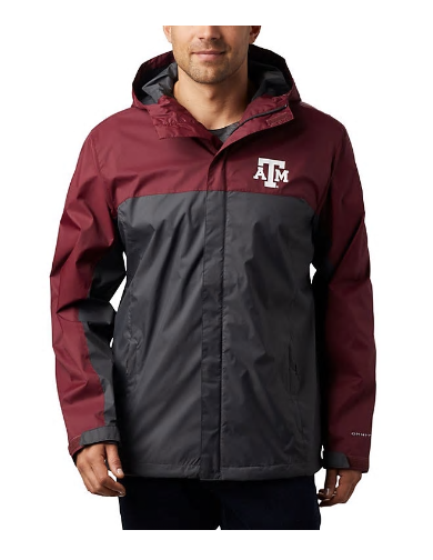 Columbia Texas A&M Men's Glennaker Storm Jacket