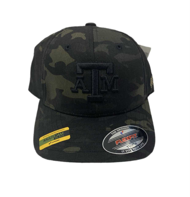 TEXAS A&M ADIDAS YOUTH HAT- CAMO