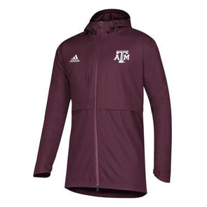 Texas Adidas Men's Game Mode Rain Jacket