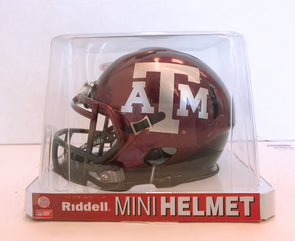 Texas A&M Speed Mini Football  Helmet