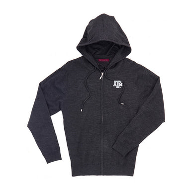 The Collection at Texas A&M Merino Wind Block Full Zip Hood