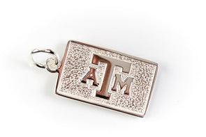 Texas A&M Luggage Tag Charm by Kitty Keller
