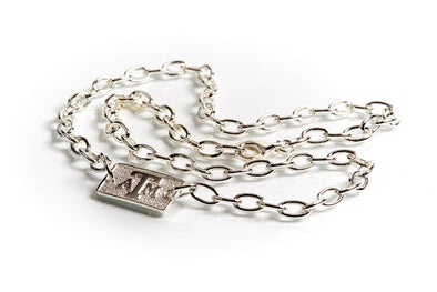 Texas A&M Luggage Tag Necklace by Kitty Keller