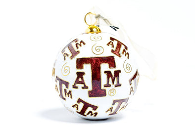 Final Touch Gifts Texas A/&M Christmas Ornament