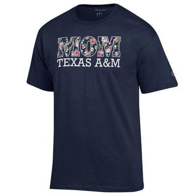 Texas A&M Champion Mom Jersey Tee