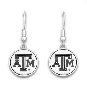 Texas A&M Silver Linings Earrings