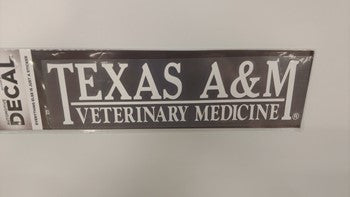 Texas A&M Veterinary Medicine Decal