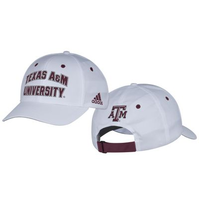 Texas A&M Adidas Structured Adjustable Hat