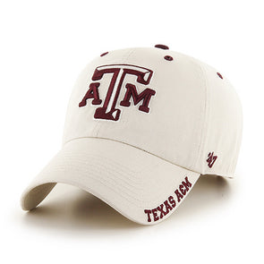 Texas A&M Ice 47 Clean Up Adjustable Hat Tan