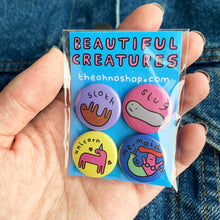 'BEAUTIFUL CREATURES' BADGE PACK