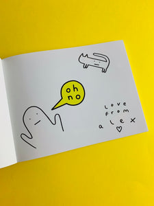 """OH NO"" BOOK (SIGNED BY ALEX NORRIS)"