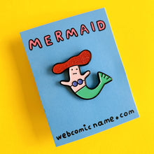 """MERMAID"" ENAMEL PIN"