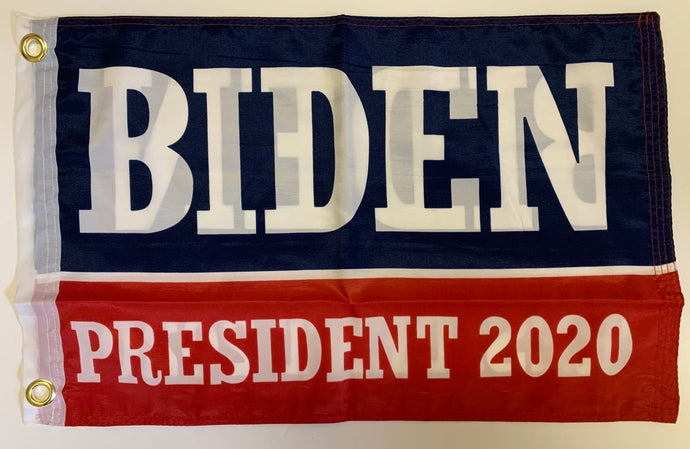 Biden President 2020 Democratic Presidential Blue And Red Double Sided Flag 12