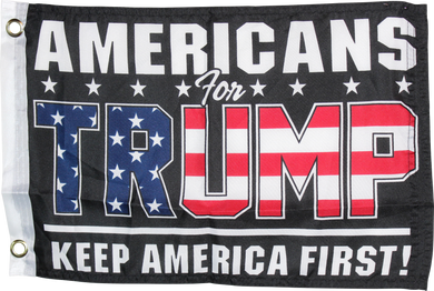 Americans For Trump KAF Keep America First Black