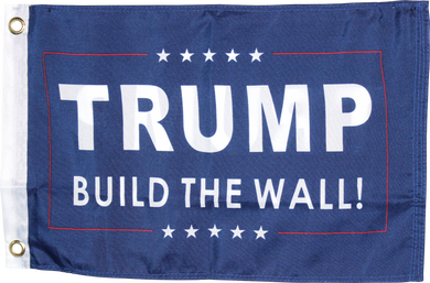 Trump Build The Wall Double Sided