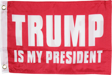 Trump Is My President Red Double Sided