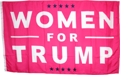 Women For Trump 3'X5' ROUGH TEX ® 68D Nylon