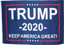 TRUMP 2020 KAG BLUE KEEP AMERICA GREAT KAG 4'X6' FLAG ROUGH TEX ® 150D NYLON