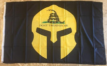GADSDEN WARRIOR DON'T TREAD ON ME FLAG 3'X5' ROUGH TEXR 100D