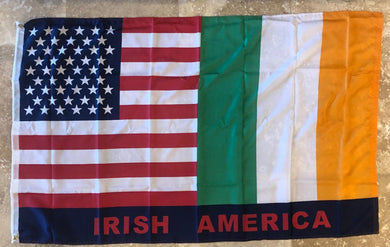 100D IRISH AMERICAN ROUGH TEX ® 3X5 FEET FLAG
