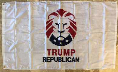 100D TRUMP REPUBLICAN ROUGH TEX ® 3'X5' FEET FLAG