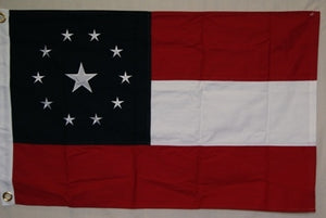 1st National 11-Star Cotton Flag 3'x5'