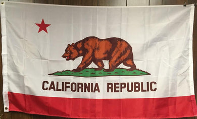 150D CALIFORNIA STATE FLAG 3X5 ROUGH TEX