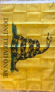 GADSDEN DON'T TREAD ON ME 150D NYLON ROUGH TEX EXTREME 3'X5'