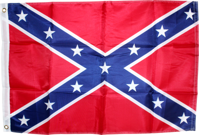 Rebel Flag 3x5ft Poly Confederate Battle flag (CSA Naval Jack)