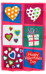 Valentine's Day Collage Garden Flag 100D