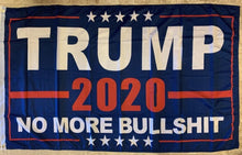 Trump 2020 No More Bullshit Rough Tex® 68D Nylon 6'X10' XXXL Flag (With Three Grommets)