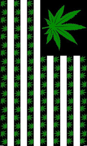 12 AMERICAN MARIJUANA WEED FLAG 3X5 150D NYLON FLAGS BY THE DOZEN WHOLESALE PER DESIGN!