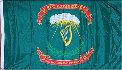2'X3' 1ST IRISH BRIGADE UNION CIVIL WAR FLAG