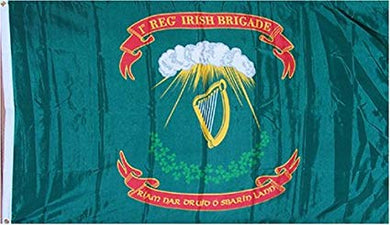 12 2'X3' 1ST IRISH BRIGADE UNION CIVIL WAR FLAG FLAGS BY THE DOZEN WHOLESALE PER DESIGN!