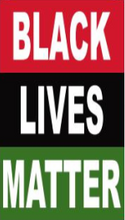 Black Lives Matter Pan African With Sleeves & Tabs 3'X5' Double Sided Flag Rough Tex® 100D