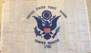 UNITED STATES COAST GUARD 100D ROUGH TEX ® 3'X5' FLAG USCG