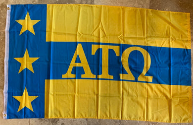 ATO Alpha Tau Omega 3'X5' Flag- Rough Tex ®100D